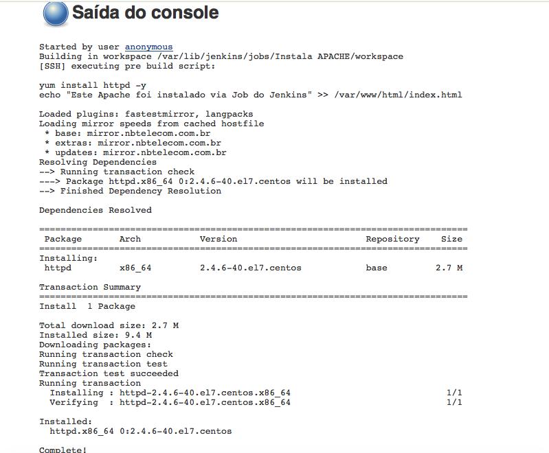Apache Pre Build Script